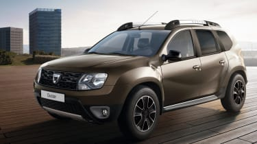 Styling tweaks boost the individuality of the Duster