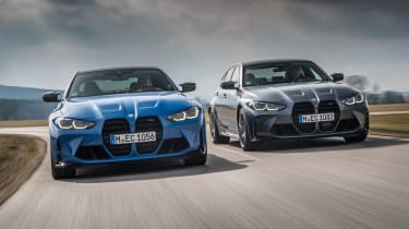 2021 BMW M3 Competition xDrive and M4 Competition xDrive