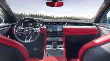 2020 Jaguar F-Pace - interior full width view