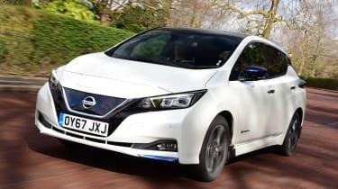 Nissan Leaf Best Buy cutout