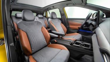 Volkswagen ID.4 SUV front seats