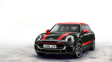 The MINI Clubman JCW is the fastest Clubman to date
