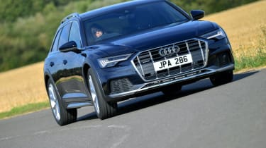 Audi A6 Allroad quattro estate cornering