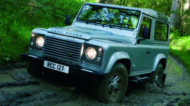 Land Rover Defender front