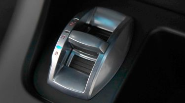 Alfa Romeo D.N.A. driving mode selector switch