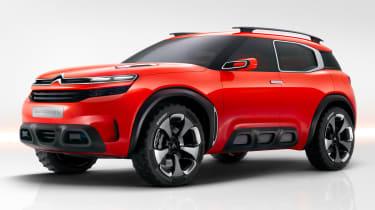 It's similar in size to the Hyundai Santa Fe