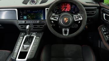 Porsche Macan SUV interior