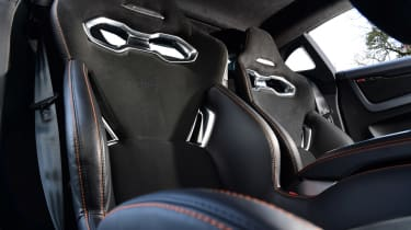 Alpine A110S seats