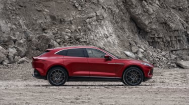 Aston Martin DBX - right side view