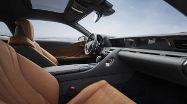 Lexus LC Limited Edition interior