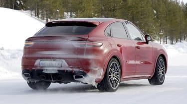 Porsche Cayenne Coupe GTS - rear view
