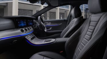 Facelifted Mercedes E-Class estate front seats