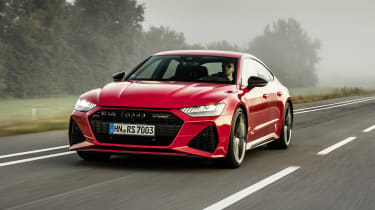 Audi RS7 driving