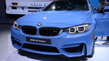 BMW M3 saloon 2014 front quarter