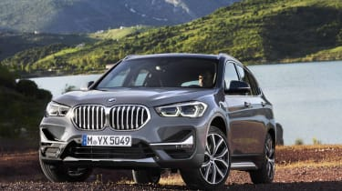 2019 BMW X1 SUV - front 3/4 static