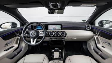 Mercedes A Class - interior view