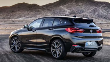 2019 BMW X2 M35i rear