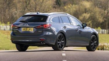 2021 Mazda6 Kuro Edition - estate rear