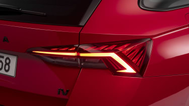 Skoda Octavia vRS estate tail-light