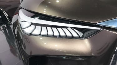 Cars like the QX50 Concept are bound to raise Infiniti's profile