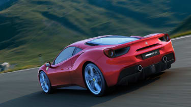 Ferrari 488 GTB tracking