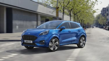 2020 Ford Puma - cornering dynamic 3/4 view