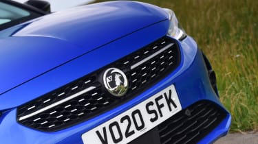 Vauxhall Corsa-e hatchback grille