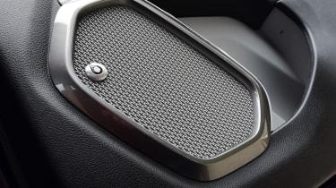 Jeep Renegade with Beats audio speakers