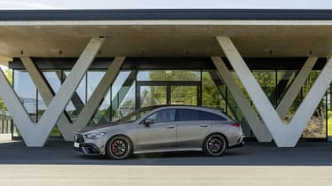 2019 Mercedes-AMG CLA 45 S Shooting Brake - static side view