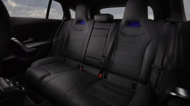 Mercedes CLA Shooting Brake rear seats