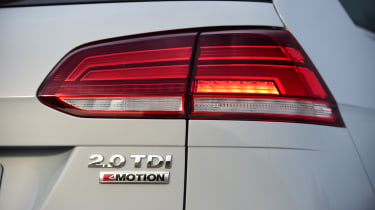 The 4Motio four-wheel drive system is available with the 2.0-litre diesel engine