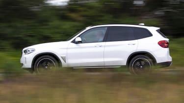 BMW iX3 SUV side panning