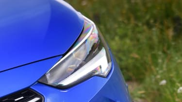 Vauxhall Corsa-e hatchback headlights