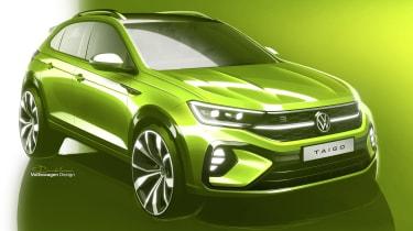 Volkswagen Taigo sketch