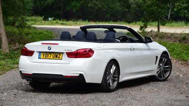 Petrol engines include the BMW 420i, 430i and powerful 440i for performance fans