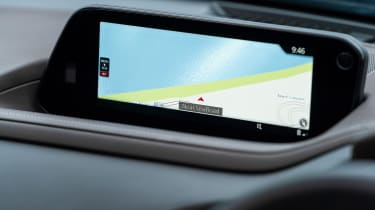 Mazda CX-30 SUV infotainment display