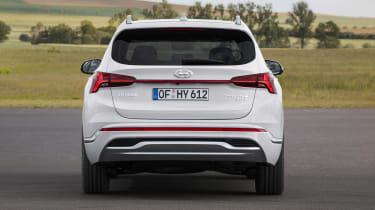 2020 Hyundai Santa Fe rear view