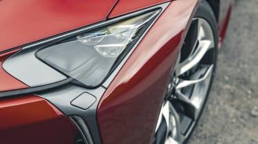 Lexus LC Convertible headlights