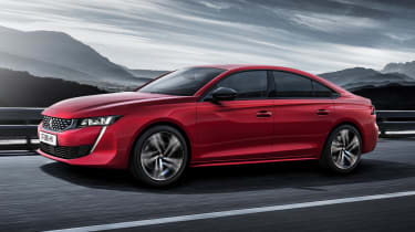 Peugeot 508 – side view