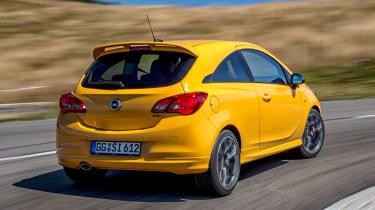 Vauxhall Corsa GSI rear 3/4 tracking
