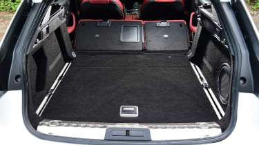 Peugeot 508 SW estate folded back seats