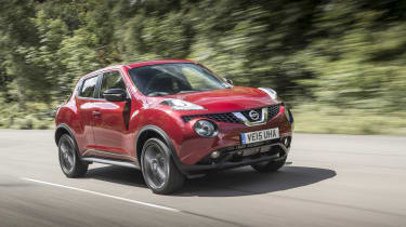 The Juke isn't the most exciting or engaging car to drive, but it does come with a good selection of petrol and diesel engines that are fairly frugal.