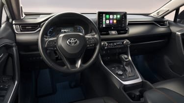 Toyota RAV4 Adventure interior
