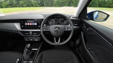 Skoda Scala hatchback dashboard