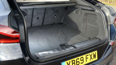 New BMW X6 2020 - boot space