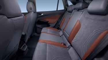 2021 Volkswagen ID.4 rear seats