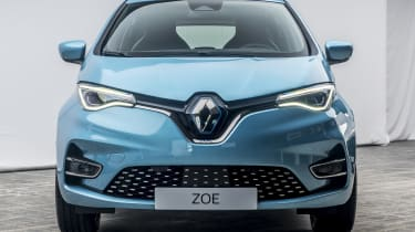 New Renault ZOE - front on view
