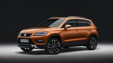 The new SEAT Ateca is the company's first ever SUV...