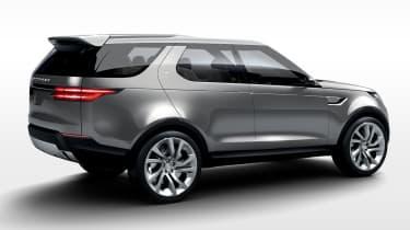 Land Rover Discovery SUV 2015 rear three quarter