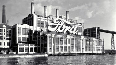 Ford's Dagenham plant boasted a dock, rail lines, a foundry and a power station
